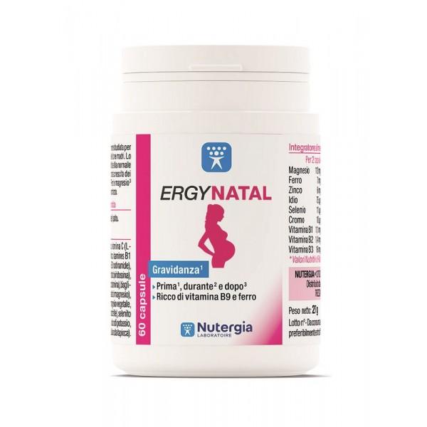 ERGYNATAL 60 Cps 31,3g