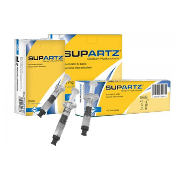 SUPARTZ 3 Siringhe Intrarticolari 2,5ml