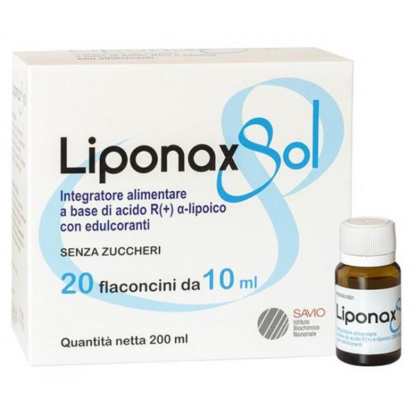 LIPONAX Sol.20fl.10ml