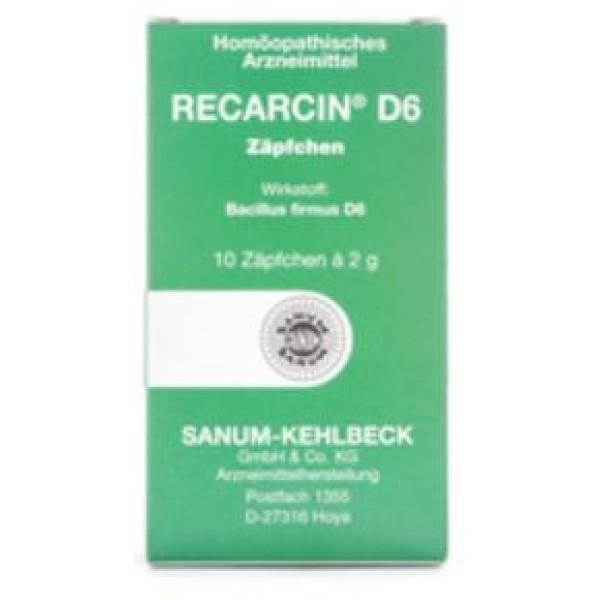 IMO SANUM RECARCIN D6 10 Supp.