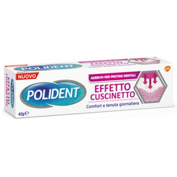 Polident Effetto Cuscinetto Adesivo per Dentiere 40 g