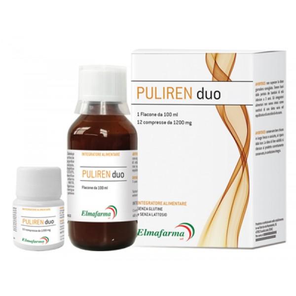 PULIREN DUO 100ml+12 Cpr