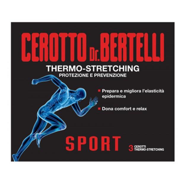 BERTELLI Cerotto Sport 3pz