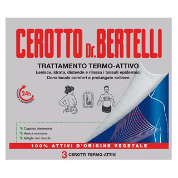 BERTELLI Cerotto Termo-Att.3pz