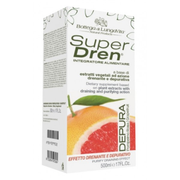 SUPERDREN Depura Pompelmo500ml