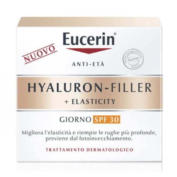 Eucerin Hyaluron-Filler + Elasticity Crema Viso Giorno SPF 30 50 ml