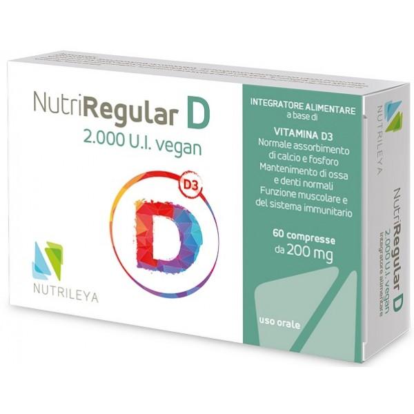 NUTRIREGULAR D2000UI Veg.60Cpr