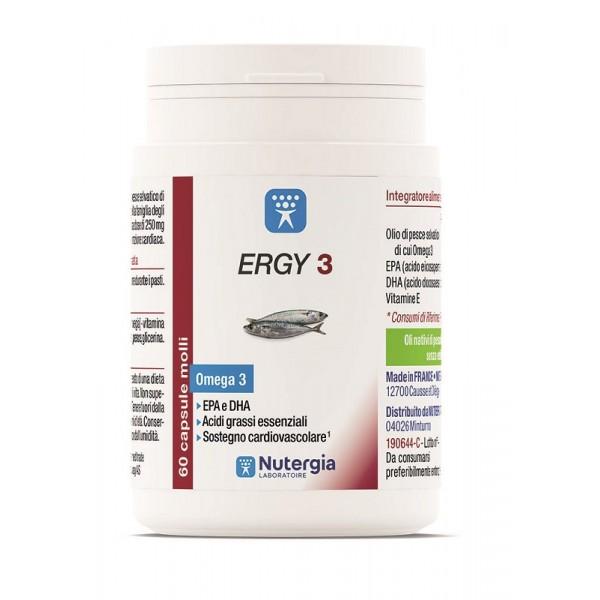 ERGY*3 Omega3 60 Cps