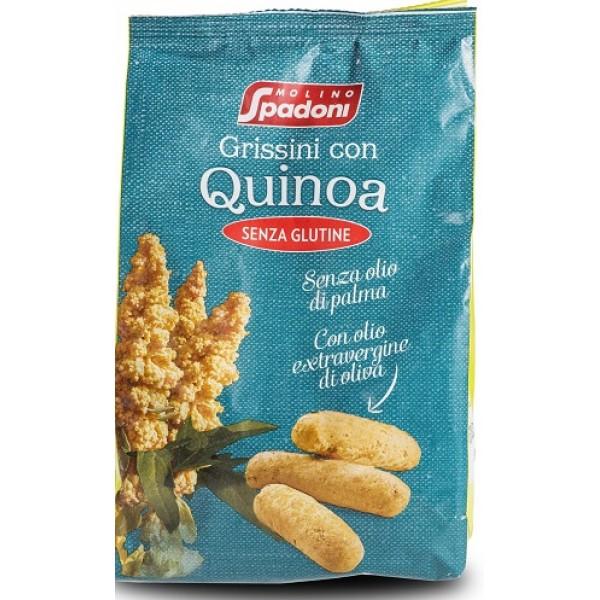 MS Grissini Quinoa S/G 150g
