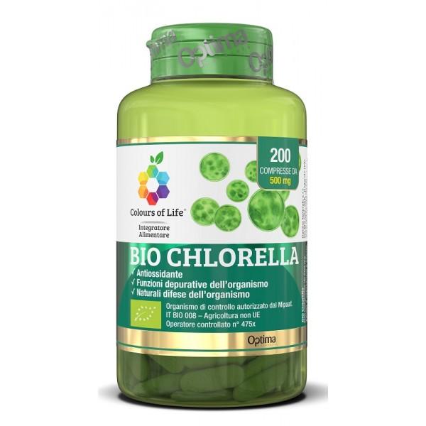 Bio Chlorella 200 Cpr Colours