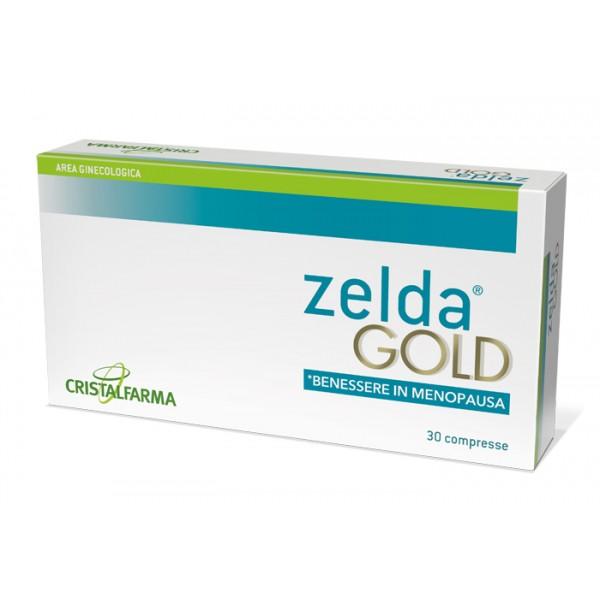 Zelda Gold - Integratore per i Disturbi della Menopausa - 30 Compresse