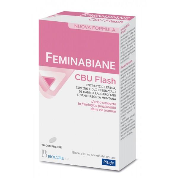 FEMINABIANE CBU FLASH 20 Cpr