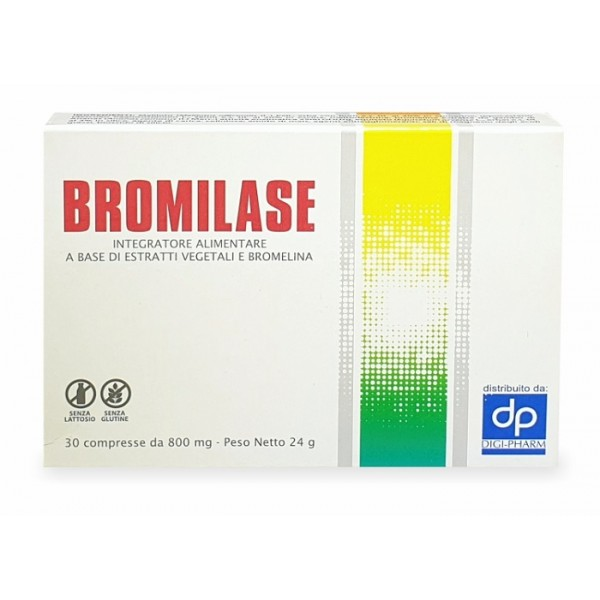 BROMILASE 30 Cpr 100mg