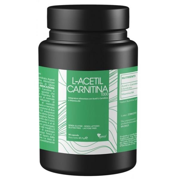 L ACETIL CARNITINA1000 90Capsule