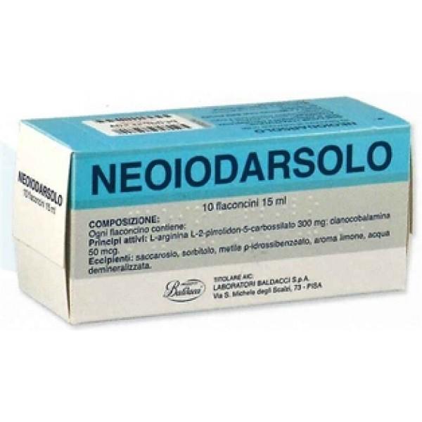 Neoiodarsolo Sospensione Orale 10 Flacon...