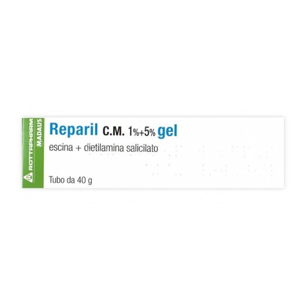 Reparil Gel 40g 1%+5%