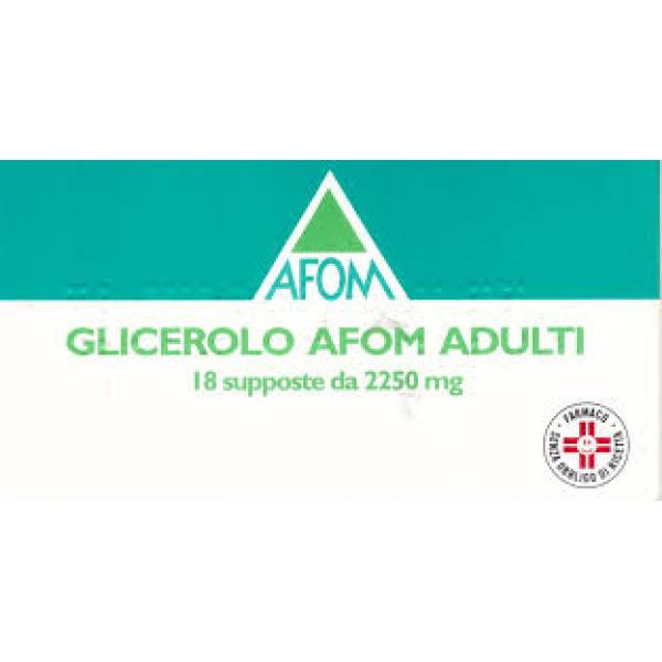 GLICEROLO AFOM 18 Supp.Ad.