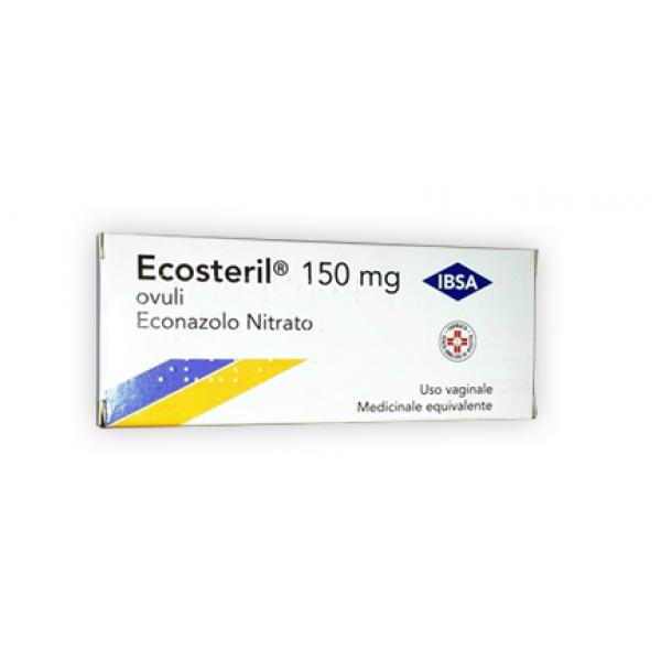 ECOSTERIL 6 Ovuli Vag.150mg