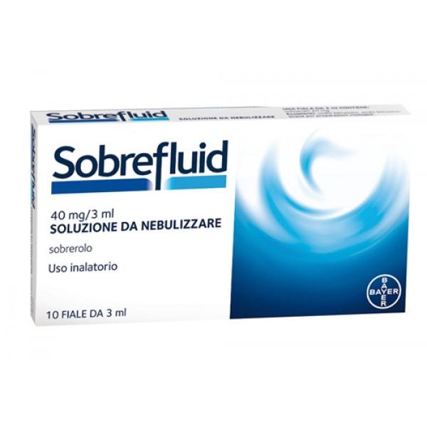 Sobrefluid*nebul 10f 40mg 3ml