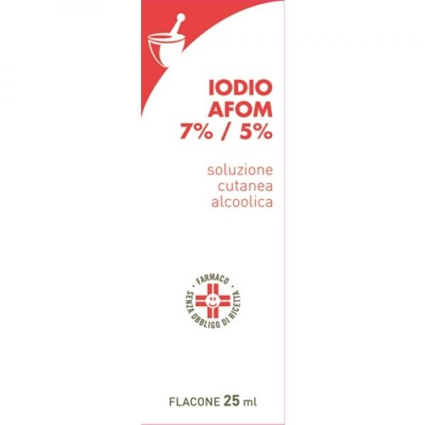 TINTURA Iodio 25ml AFOM