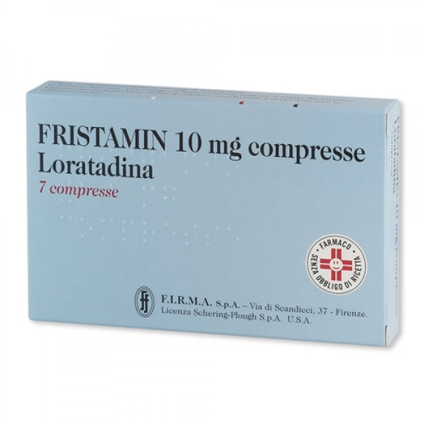 FRISTAMIN 10mg 7 Cpr
