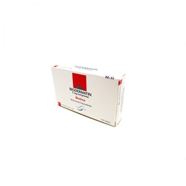 Biodermatin*30cpr 5mg