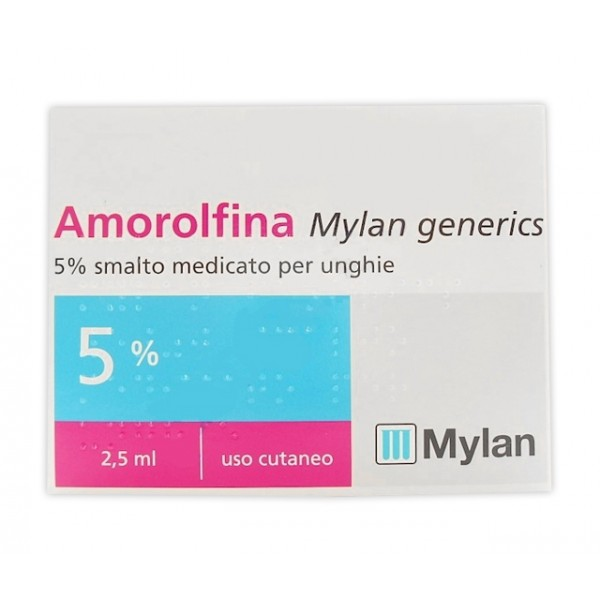 AMOROLFINA Smalto per Onicomicosi 5% 2,5ml