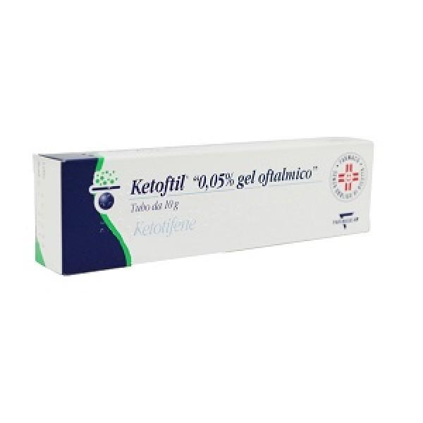Ketoftil*oft Gel 10g 0,5mg/g
