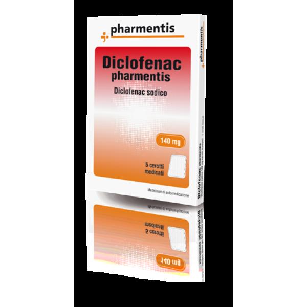 DICLOFENAC 140mg  5 Cer.