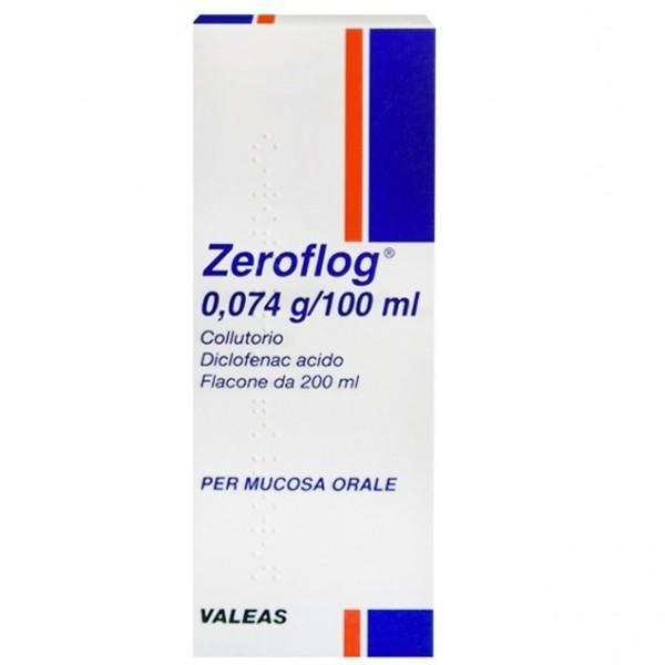 Zeroflog Collutorio 1 Flacone 200ml