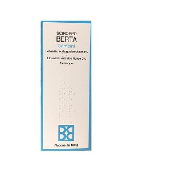 Sciroppo Berta*bb Fl 130g