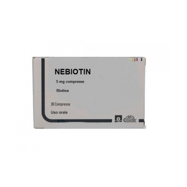 Nebiotin*30cpr 5mg