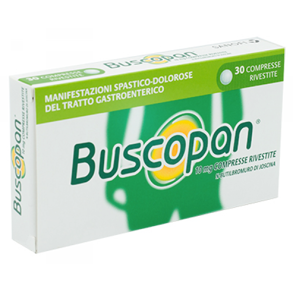 BUSCOPAN*10mg 30*Cpr     F1000
