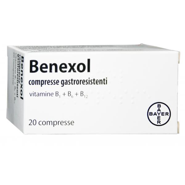 Benexol*fl 20cpr Gastrores