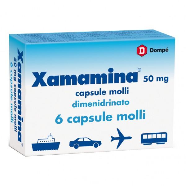 Xamamina*6 capsule molli 50mg