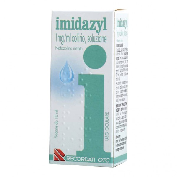 Imidazyl*collirio Flacone 10ml 0,1%