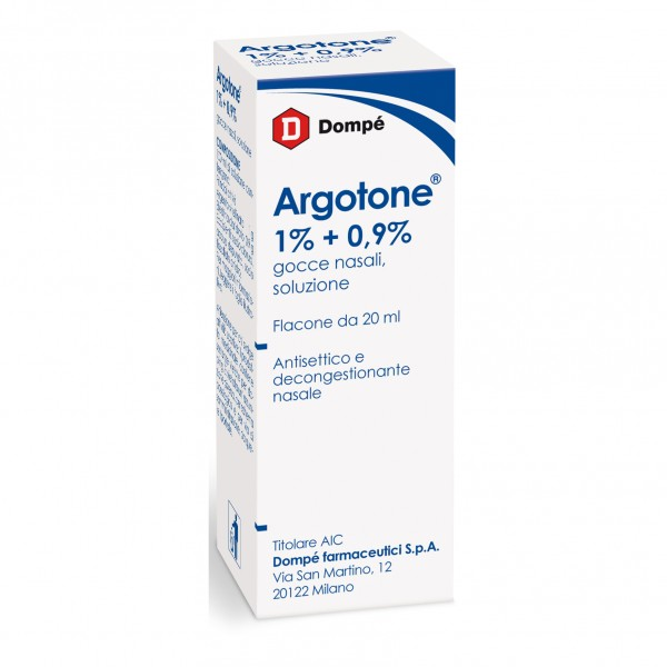 Argotone Gocce Nasali 20 ml