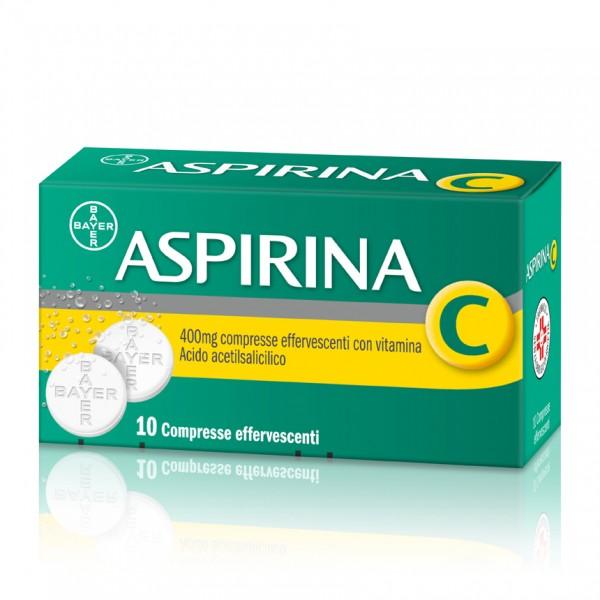 Aspirina C 10 compresse efferescenti 400+240mg