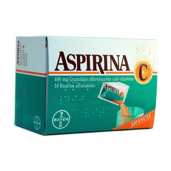 Aspirina C Granulato 10 bustine 400+240m...