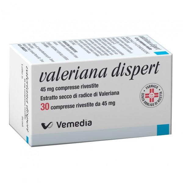 Valeriana Dispert 45 mg - 30 Compresse Rivestite