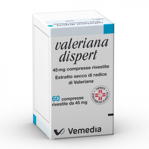 Valeriana Dispert 45mg - 60 Compresse Ri...