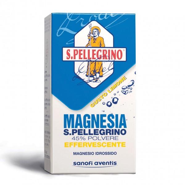 Magnesia S.Pellegrino Polvere Effervescente, gusto Limone 100g