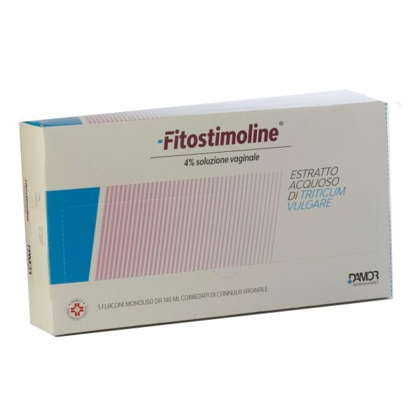 Fitostimoline soluzione Vaginale 5 faconi 140ml