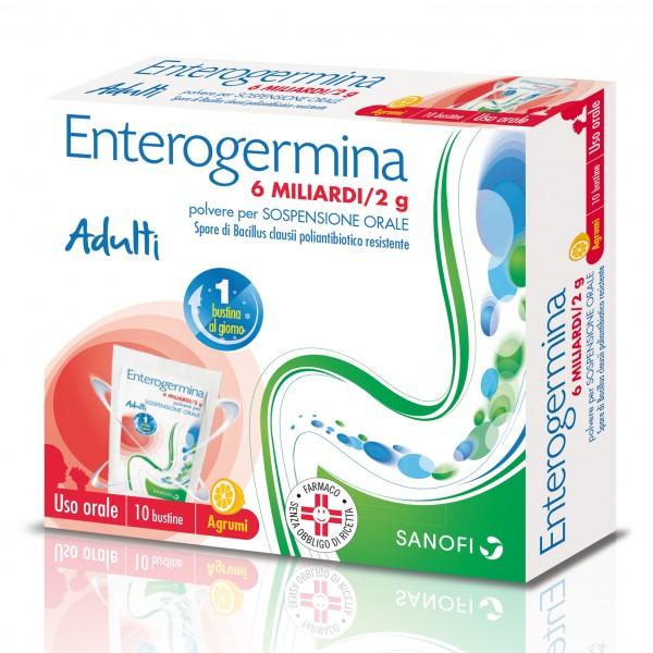 Enterogermina 6 Miliardi - Equilibrio de...