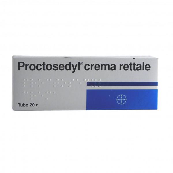 Proctosedyl Crema Rettale 20g