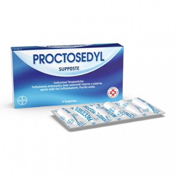 Proctosedyl 6 Supposte