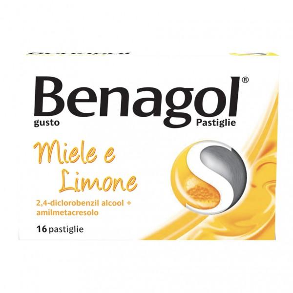 Benagol 16 Pastiglie Miele e Limone
