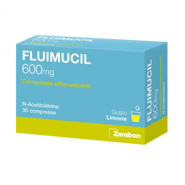 Fluimucil*30cpr Eff 600mg