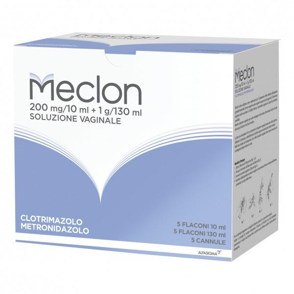 Meclon Soluzione Vaginale 5 flaconi 130ml
