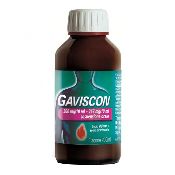 Gaviscon sciroppo 500mg+267mg/10ml